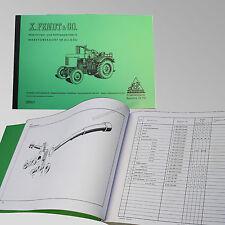 Fendt Ersatzteilliste für Dieselross F 28 Traktor Trecker Schlepper 25001