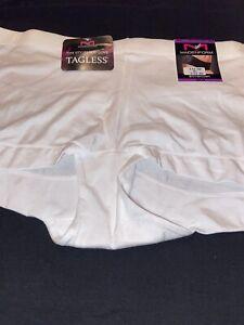 NEW! Maidenform  Dream Microfiber White Boyshort Panty / Size 2XL 9 / $12