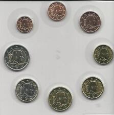 KMS BELGIEN 2016 : lose : von 1 Cent Bis 2 euro : 3,88 nominal