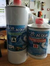 E-30 resina epossidica trasparente effetto acqua A + B 1,6 kg Prochima no tossic