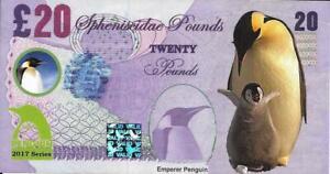 2017 Penguin Series - EMPEROR PENGUIN - 20 Spheniscidae Pounds