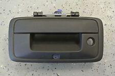 NEW 2014-16 Silverado Black Tailgate Handle Back Up Camera Hole GM 23156952