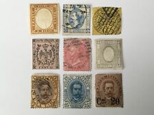 old stamps  ITALY and STATES   x  9