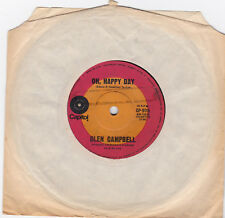"""Glen Campbell - Oh Happy Day - 7"""" single"""