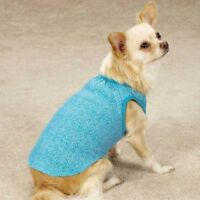 Dog Puppy Shirt Tank - Zack & Zoey - Polka Dot - Blue