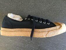 Rare Converse Mens Jack Purcell LTT OX Black/Natura Gum Sole 144289C 8.5 NIB