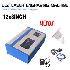 40W USB PORT CO2 LASER ENGRAVER CUTTER ENGRAVING CUTTING MACHINE