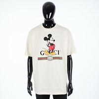 GUCCI 650$ x Disney Oversize Tshirt With Mickey Mouse & Gucci Logo