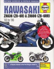 2003-2006 Kawasaki Ninja Zx636 Zx-6R Zx600 Service Repair Workshop Manual 0136 (Fits: Kawasaki)