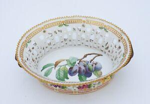 Large Fruit bowl #3536 - Flora Danica - Royal Copenhagen - Repaired