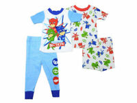 PJ Masks Baby Boys Size 18 Months 2-Cotton Pajama Sets, Blue/Red/Green NWT