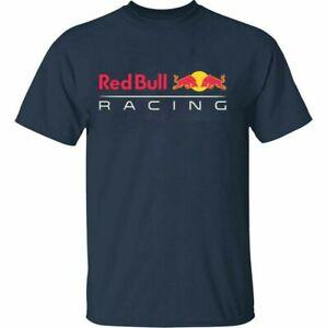 HOT!!! Men's Red Bull Racing Black & Navy T-Shirt Size S-5XL