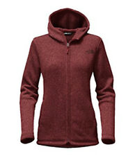 9ac985fa5c The North Face Women Crescent Full Zip Hoody (S) Barolo Red Heather