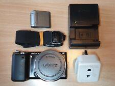 Sony Alpha NEX-5N 16.1MP Digital Camera - Black (Body Only) & Flash #7005