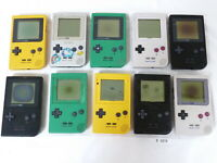 FOR PARTS! Lot of 10pcs Set Nintendo GameBoy Pocket Console System GBP #2879
