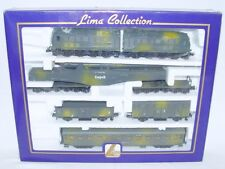 Marklin Lima HO 1:87 DR WWII V-188 BATTLE LOCOMOTIVE + LEOPOLD CANNON TRAIN Set!