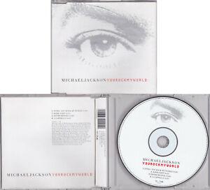 Michael Jackson YOU ROCK MY WORLD 6720292 Maxi CD Single 2001