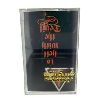 Stryper To Hell With The Devil Music Cassette Tape Christian Metal Band