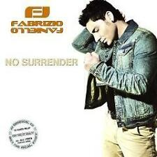 No Surrender CD von Fabrizio Faniello  - EUROVISION - incl. 1 Autographcard!