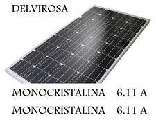 LOTE DE 2 PANEL SOLAR 12V - PLACA 100W MONOCRISTALINA, FABRICADO ALEMANIA