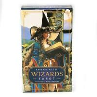 Wizard Tarot 78 Cards Deck Based on Rider Waite Deck Divination Toy Board Game