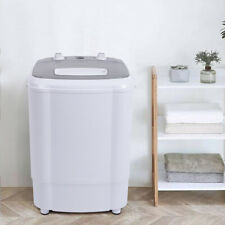 10lb Elution Integrated Semi-automatic Gray Cover Washing Machine Us Standard