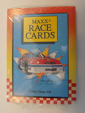 Maxx Race Cards 1989 Unopened Pack- Includes 10 Cards and Two Stickers