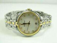 MAURICE LACROIX CALYPSO Damenuhr mit Perlmutt Zifferblatt & Diamanten Armbanduhr