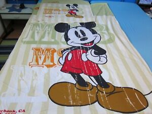 Retro 2 tlg Kinderbettwäsche, Original Mickey Mouse, Micky Maus, bed linen