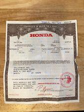 1984 Honda Atc200Es Atv Three Wheeler