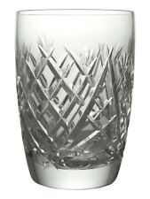 WATERFORD Crystal - DONEGAL Cut - 10oz Tumbler Glass / Glasses - 4 1/4""