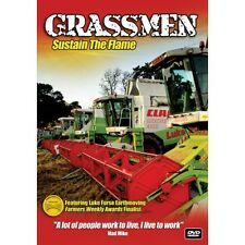 Grassmen Sustain The Flame DVD new/Tractors/Ireland/UK/Free Post/Country/Farming
