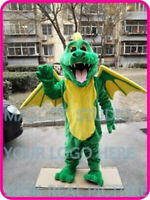 Dragon Mascot Costume Suit Cosplay Party Game Dress Unisex Advertising Halloween