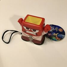 NEW The Disney Store Inside Out Anger Talking Flashlight Kids Toy