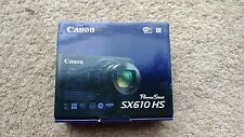 "Canon PowerShot SX610 HS 20.2 MP Digital Camera 18x Zoom 3"" LCD Red NEW/SEALED"
