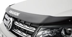 Genuine Volkswagen Amarok Matte Black Bonnet Protector VGA82301M