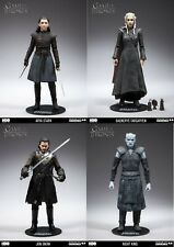 Game of Thrones Set of 4 Figures Ayra Jon Daenerys Night King McFarlane IN STOCK
