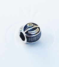 "Genuine Pandora Charm ""Basketball""  791201EN44 - retired"