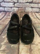 Skechers Shape Ups Womens Size 7 Mary Jane 24866 Toning Walking Leather Black