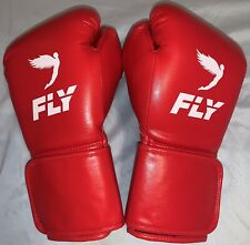 Fly Superloop X Boxing Gloves; 12 Ounces; Red; Hook & Loop; Brand New