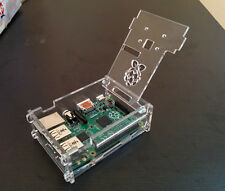 Raspberry Pi Clear case with Camera mounting for model 2 and 3 RPIC102