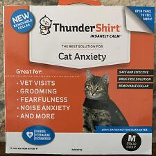 Thundershirt For Cats 9-13 Lbs, Size Medium, Solid Gray 1592