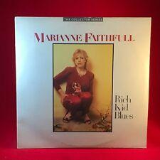 MARIANNE FAITHFULL Rich Kid Blues 1985 UK Double VINYL LP EXCELLENT CONDITION