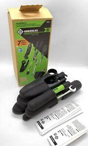 GREENLEE Pro Professional 7-Piece Coax Tool Kit w/ Belt Pack  #46601  NIB