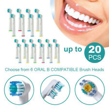 Toothbrush Heads Oral B Compatible Electric Replacement Brush Heads Floss Flexi