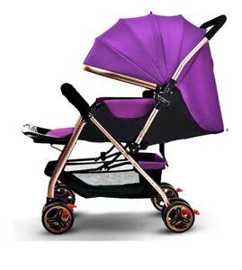 Passeggino Leggero Reversibile / Fronte Mamma Colore Viola Purple