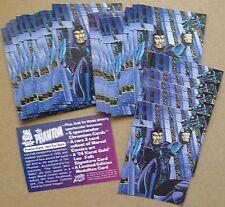 The Phantom (Lee Falk) promo cards (32 of same card) 1994 Comic Images