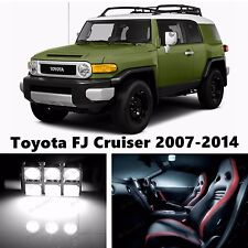 9pcs LED Xenon White Light Interior Package Kit for Toyota FJ Cruiser 2007-2014