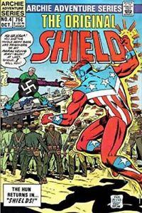 The Original Shield Greim Ayers #4 Archie Comics Adventure Series Oct 1984 NM