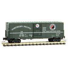 NIB Z MTL #50300172 40' Single Door Boxcar Northern Pacific #1034